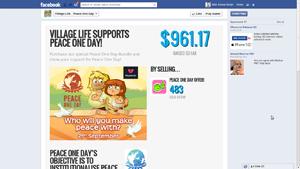 Playmob Facebook Tab Application